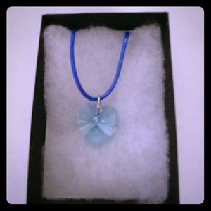 Jewelry - Vacation Turquoise Crystal Heart Necklace